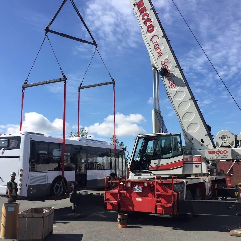 BECCO Crane Service Inc. in Port Coquitlam