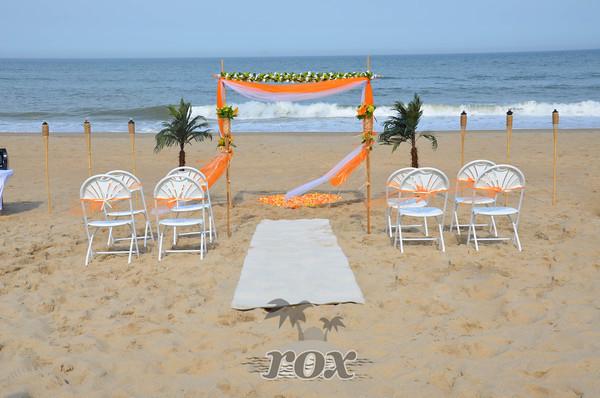 Ocean City Beach Wedding: Rox Beach Weddings In Ocean City, MD 21842