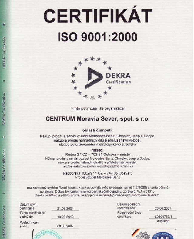 CENTRUM MORAVIA SEVER, spol. s r.o.