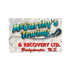 McCarthy's Towing & Recovery Ltd Hebbville (902)543-5526
