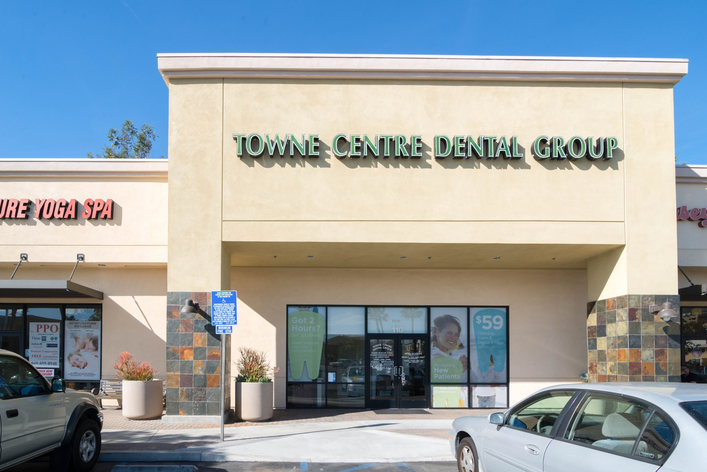 Towne centre dental group in foothill ranch ca 92610 for Mercedes benz foothill ranch service specials