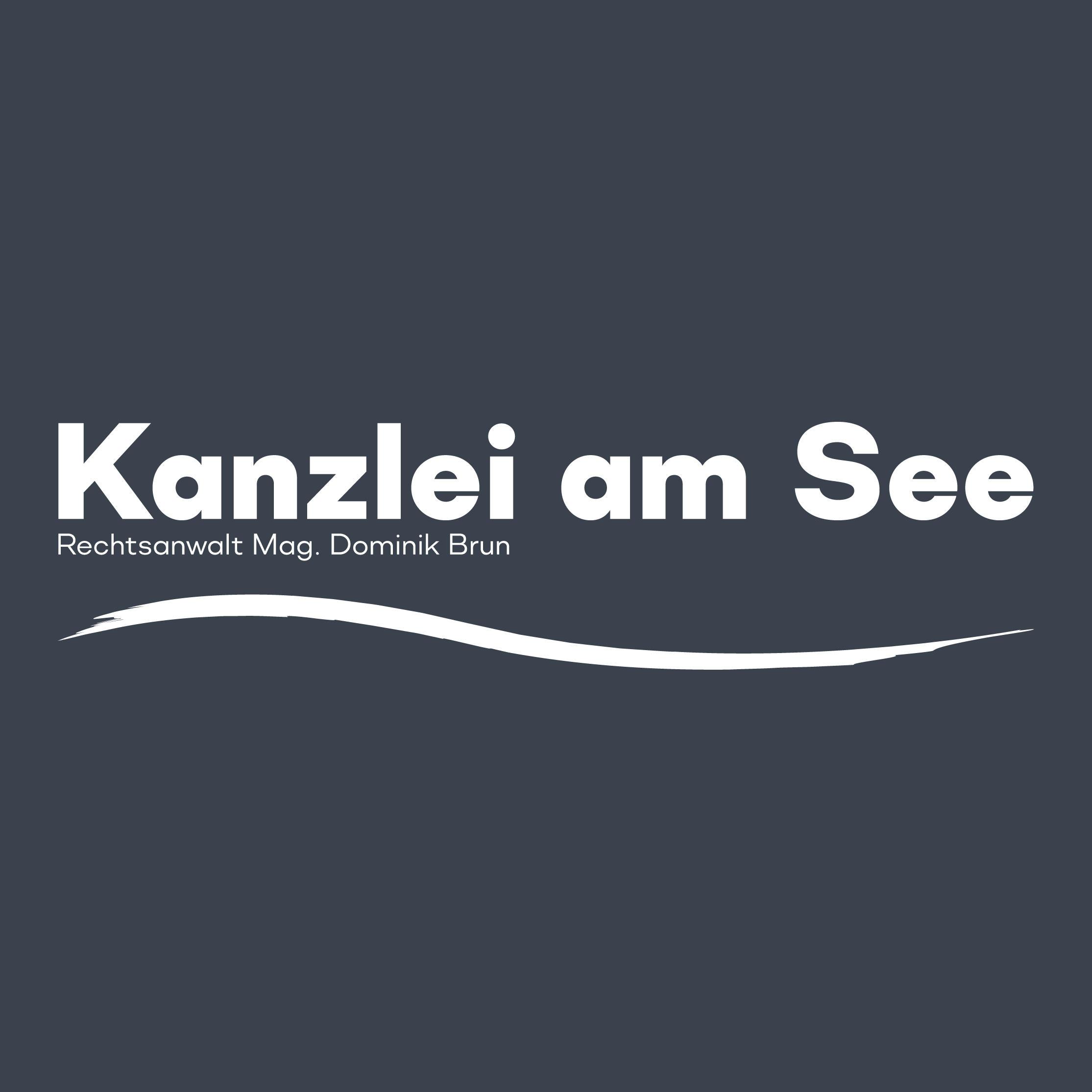 Rechtsanwalt Mag. Dominik Brun - Kanzlei am See Logo