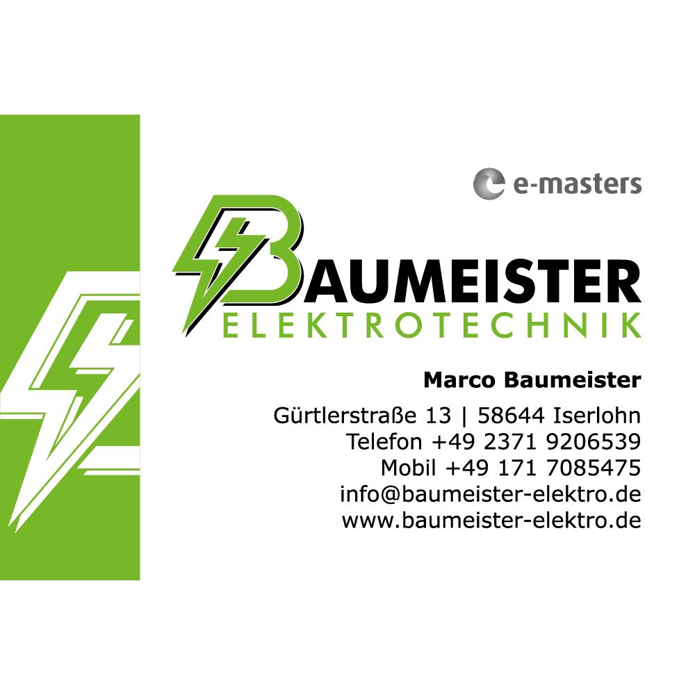 Bild zu Baumeister Elektrotechnik in Iserlohn