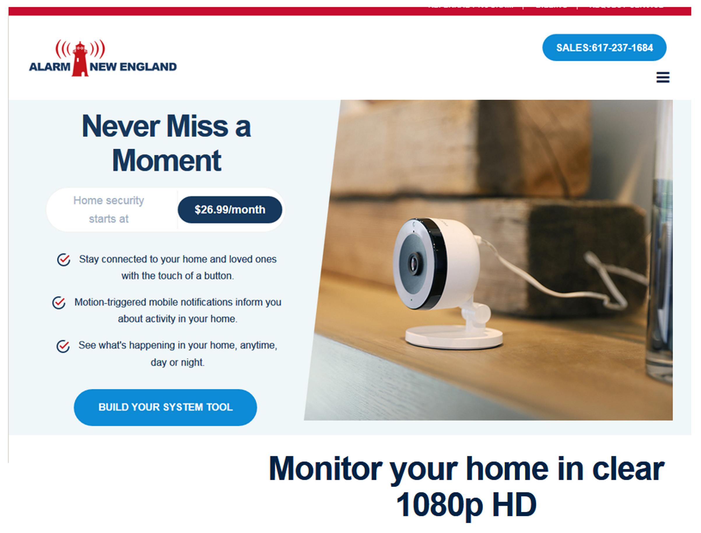 Home security cameras in North shore / Newburyport ma