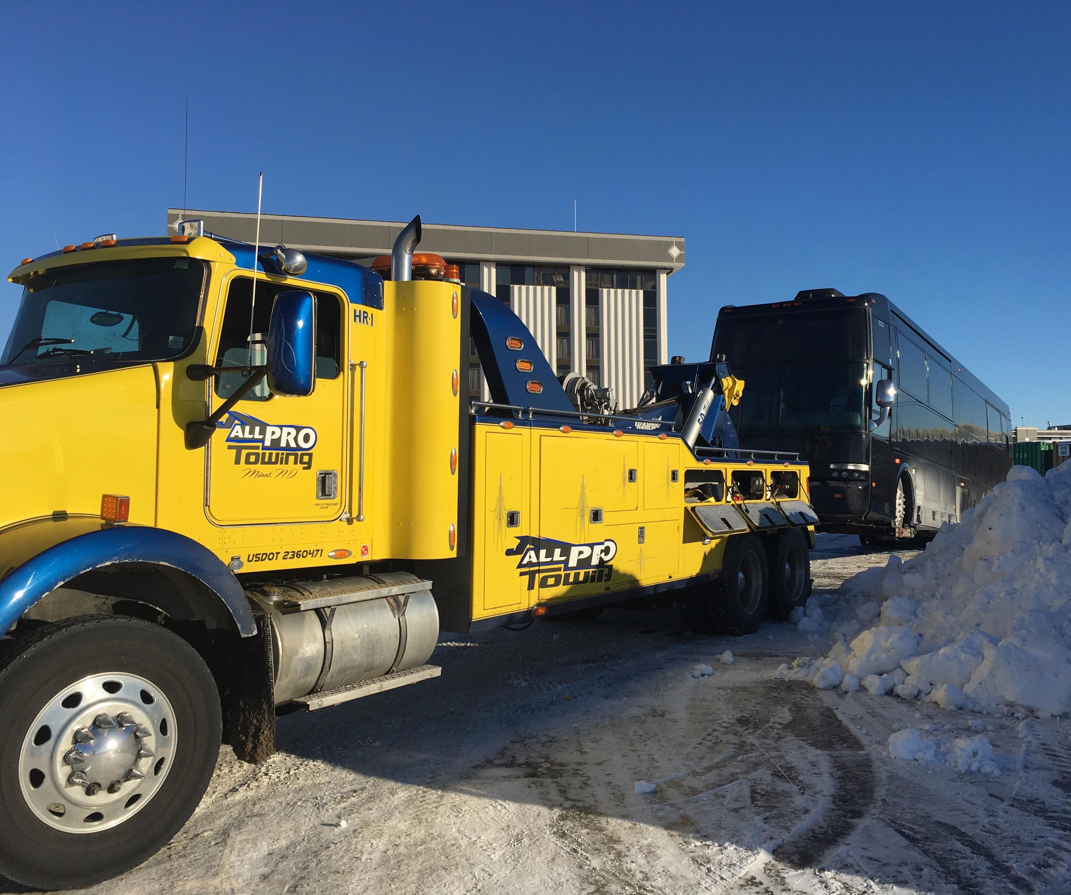 Tire Repair Near Me Open Sunday >> All Pro Towing LLC, Minot North Dakota (ND ...