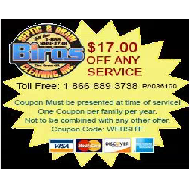 Biros Septic & Drain Cleaning, Inc. - Zion Grove, PA - Septic Tank Cleaning & Repair
