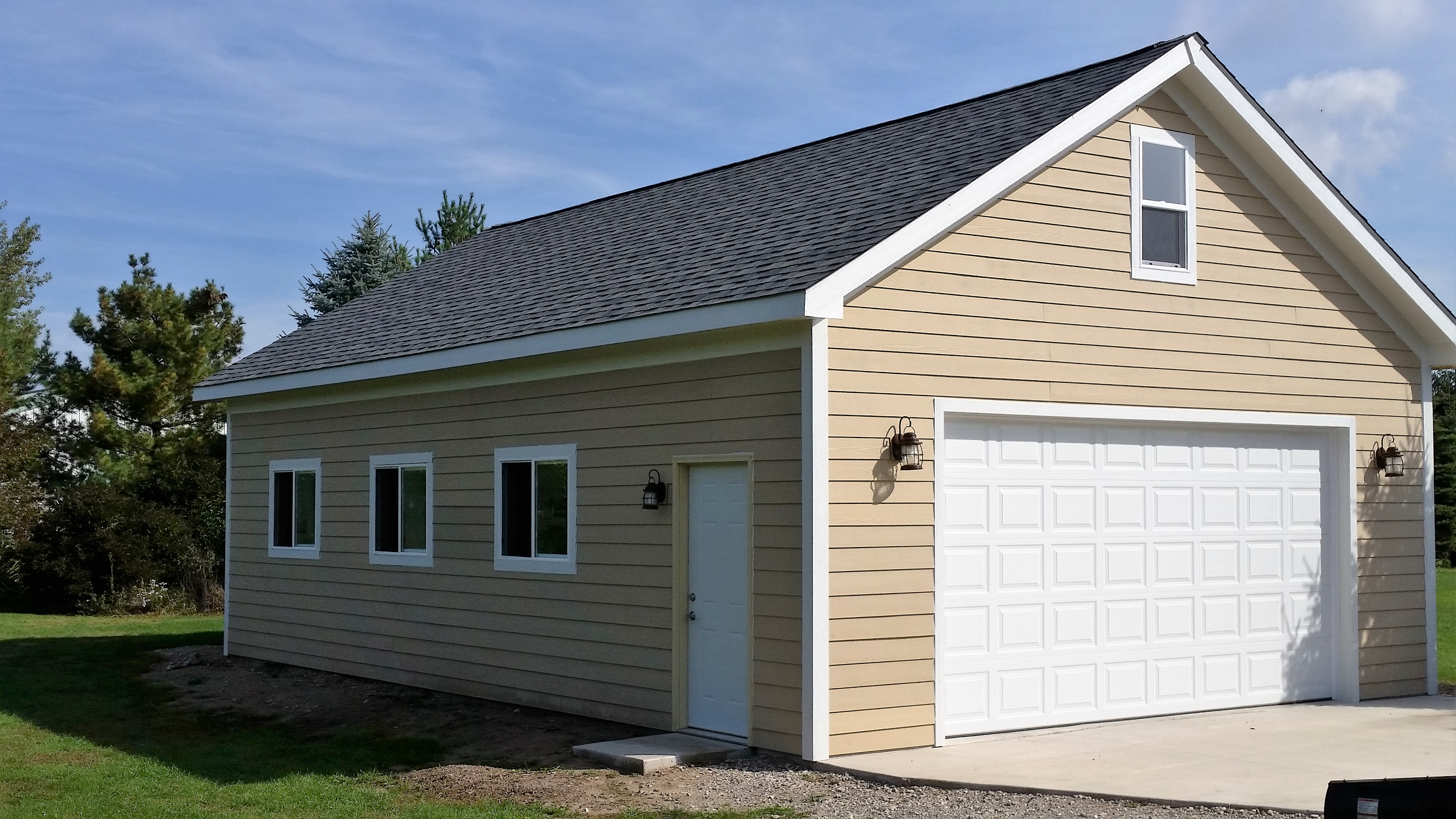 Custom garages more inc johnsburg illinois il for Garages and more
