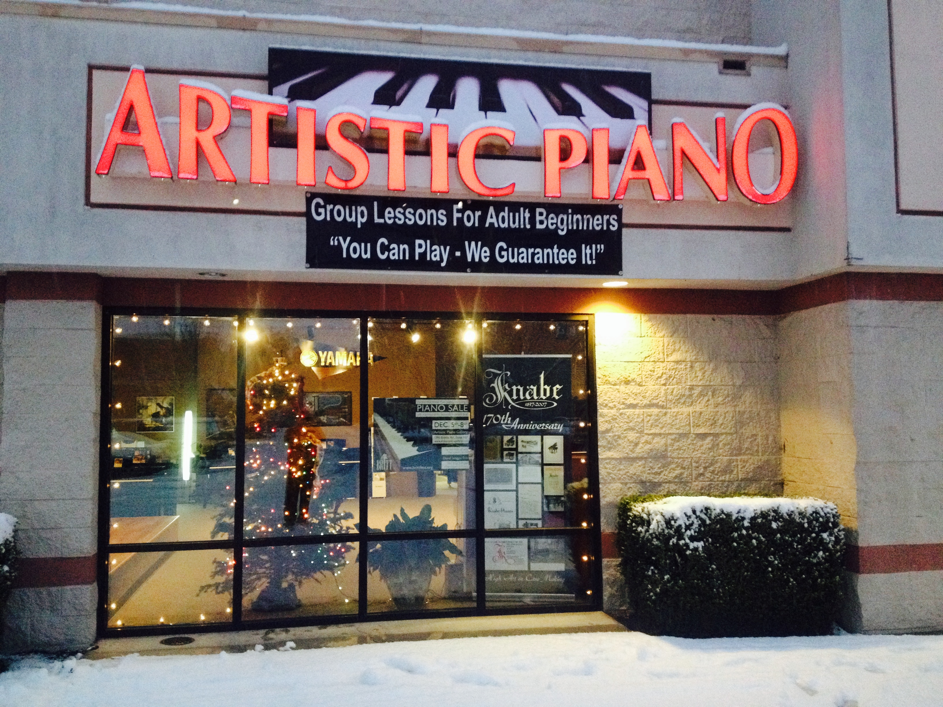 Artistic Piano Gallery
