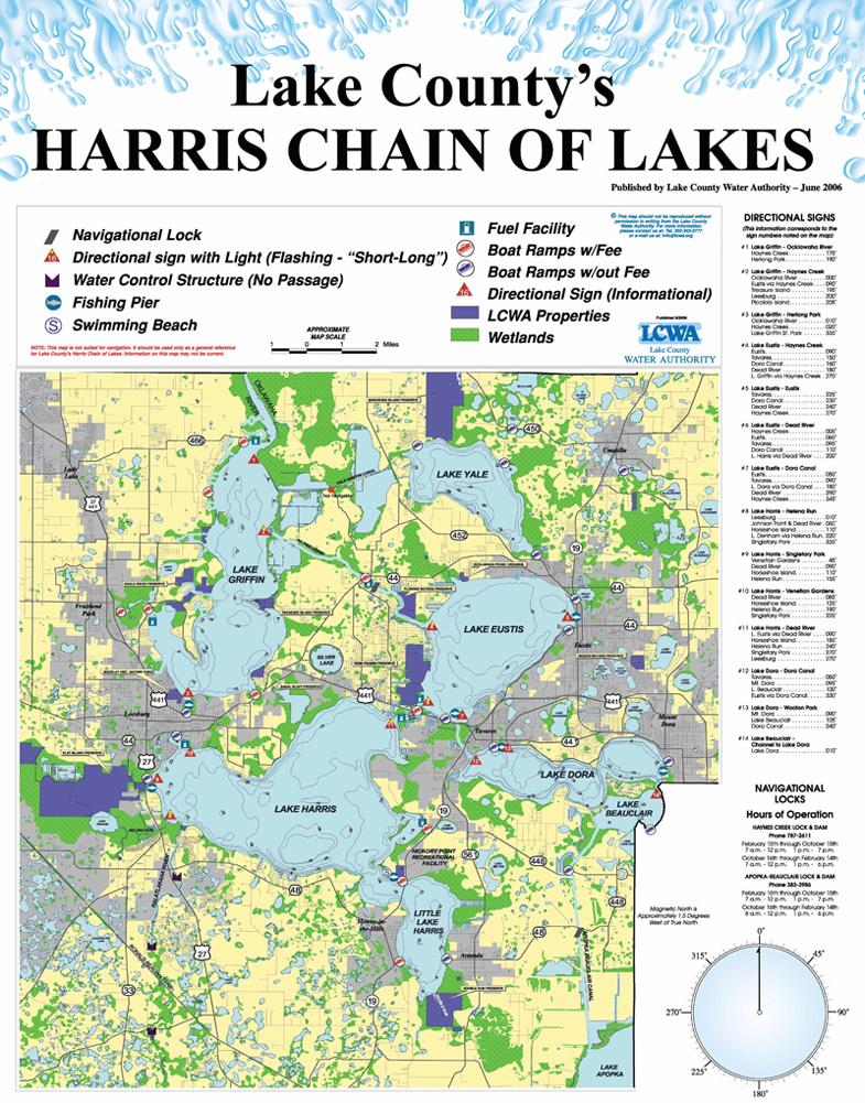 Roxanne logan era grizzard real estate in mount dora fl for Fishing lake maps