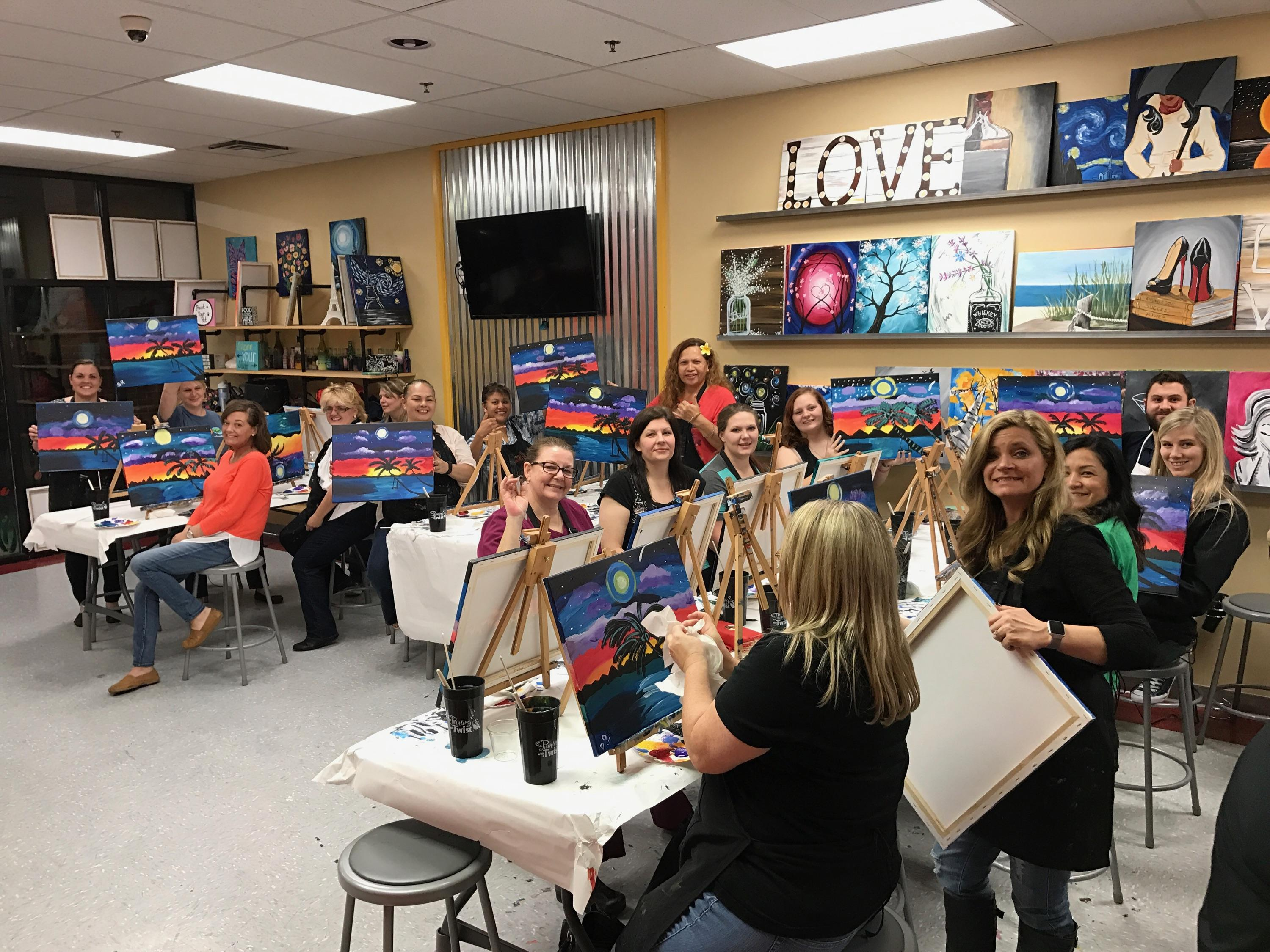 painting with a twist in louisville ky arts