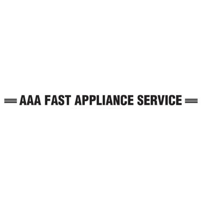 AAA All Brand Appliance Fast Service