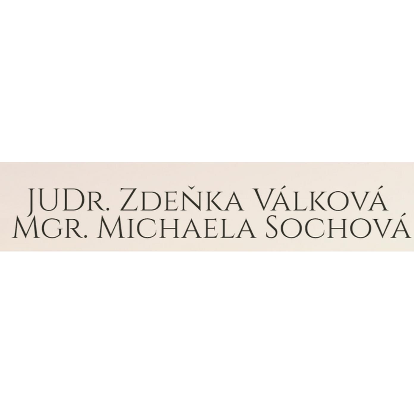 JUDr. Zdeňka Válková & Mgr. Michaela Sochová