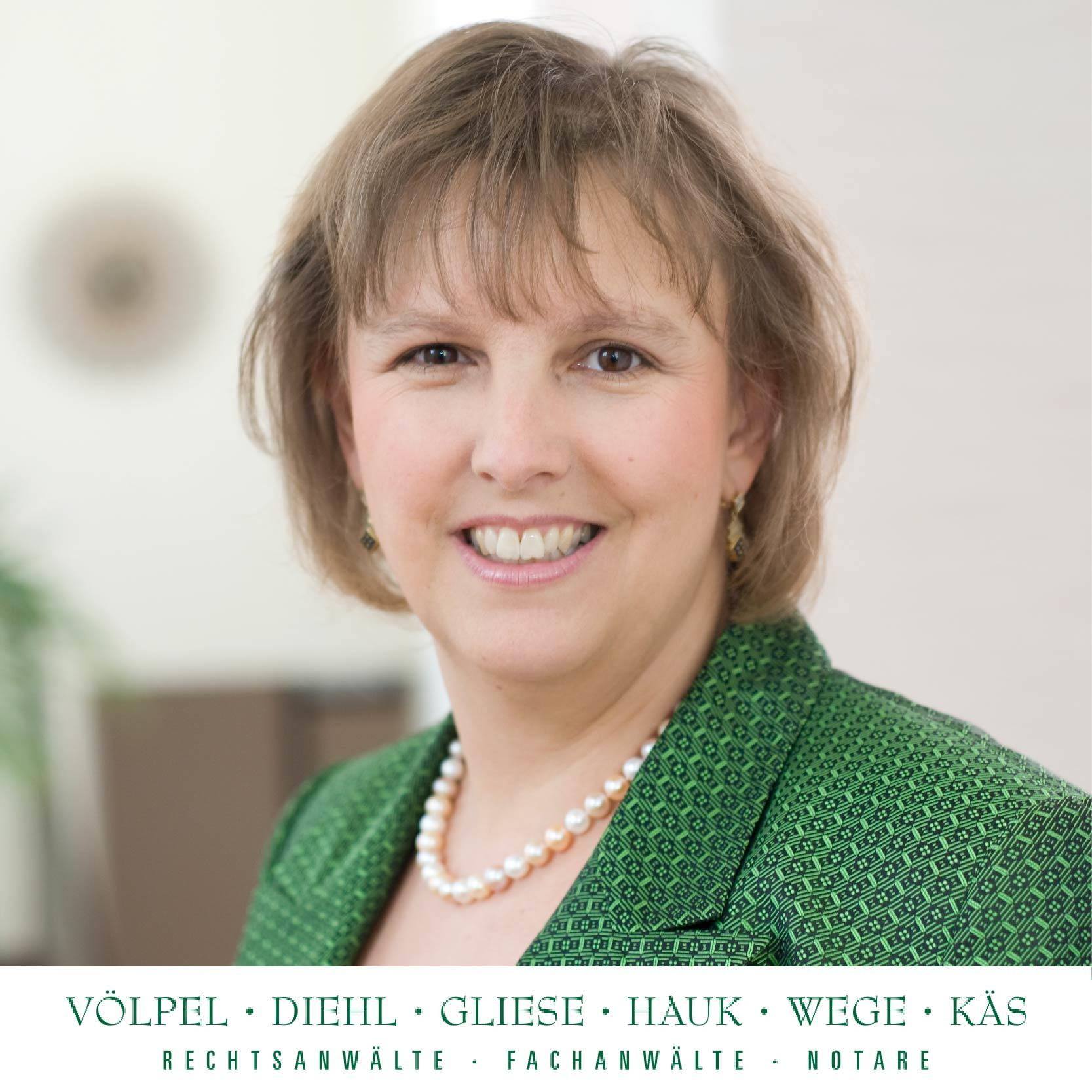 Bild zu Rechtsanwältin Astrid Gliese - Sozietät Völpel & Kollegen in Gießen
