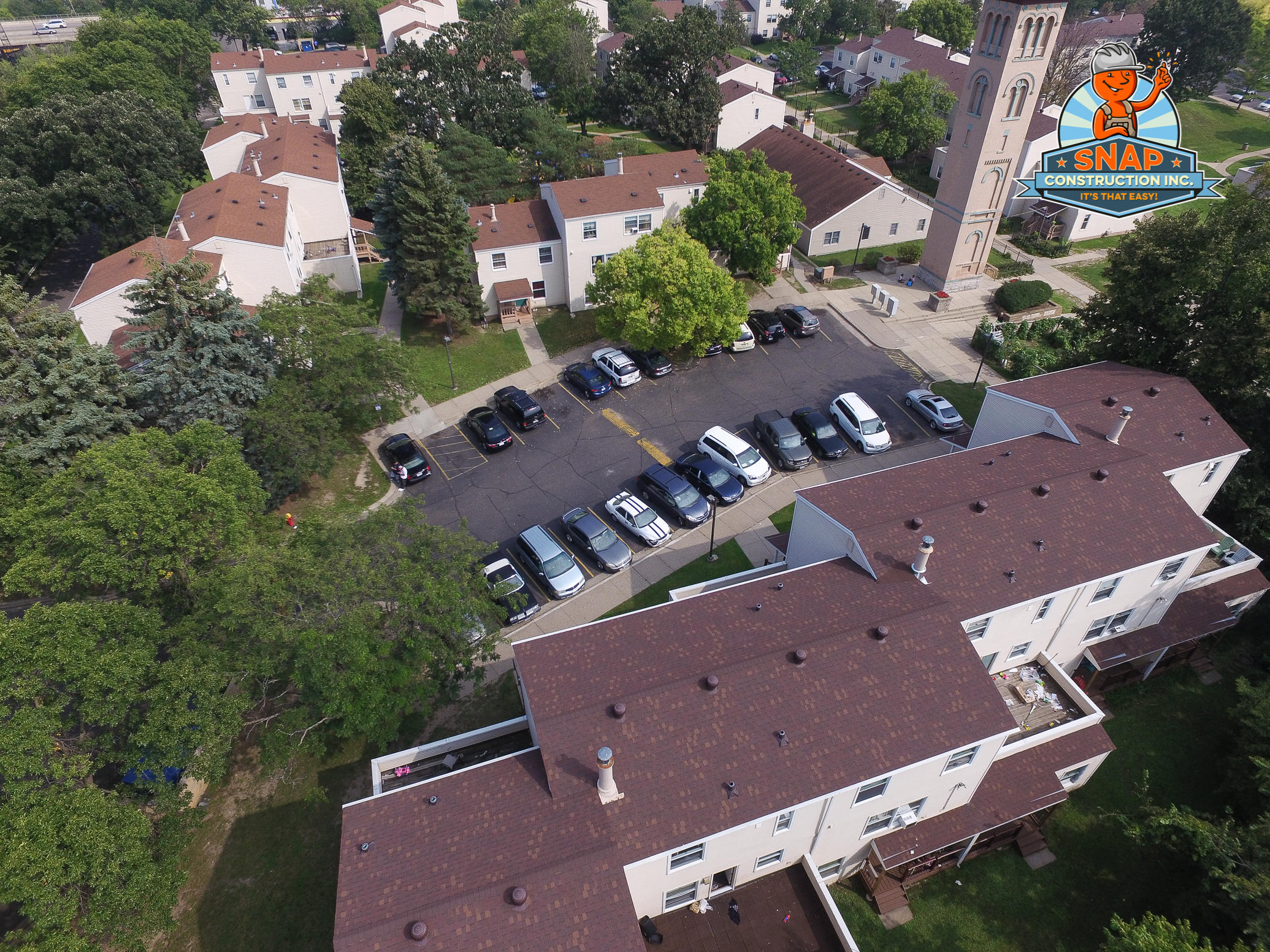 St. Paul Commercial Roof Replacement