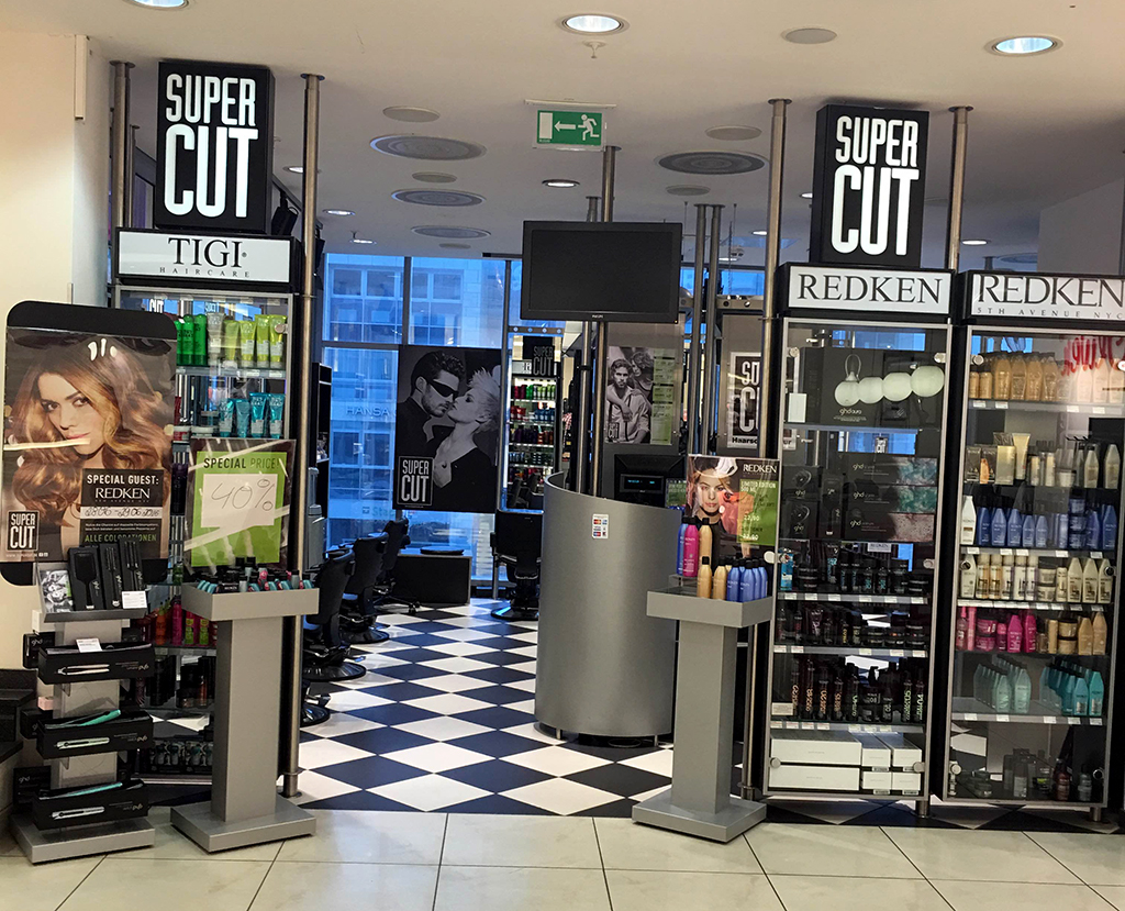 Super Cut, Dortmund, S Oliver Store