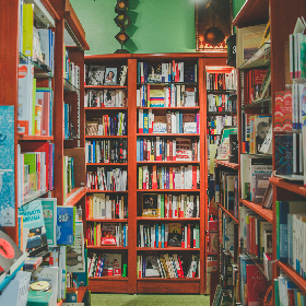 Librairie Limasson in Montréal: Flâner dans le labyrinthe des allées