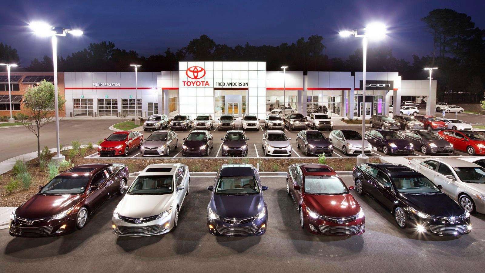 Fred Anderson Toyota Of Columbia West Columbia South