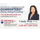 Cindy Wen Real Estate