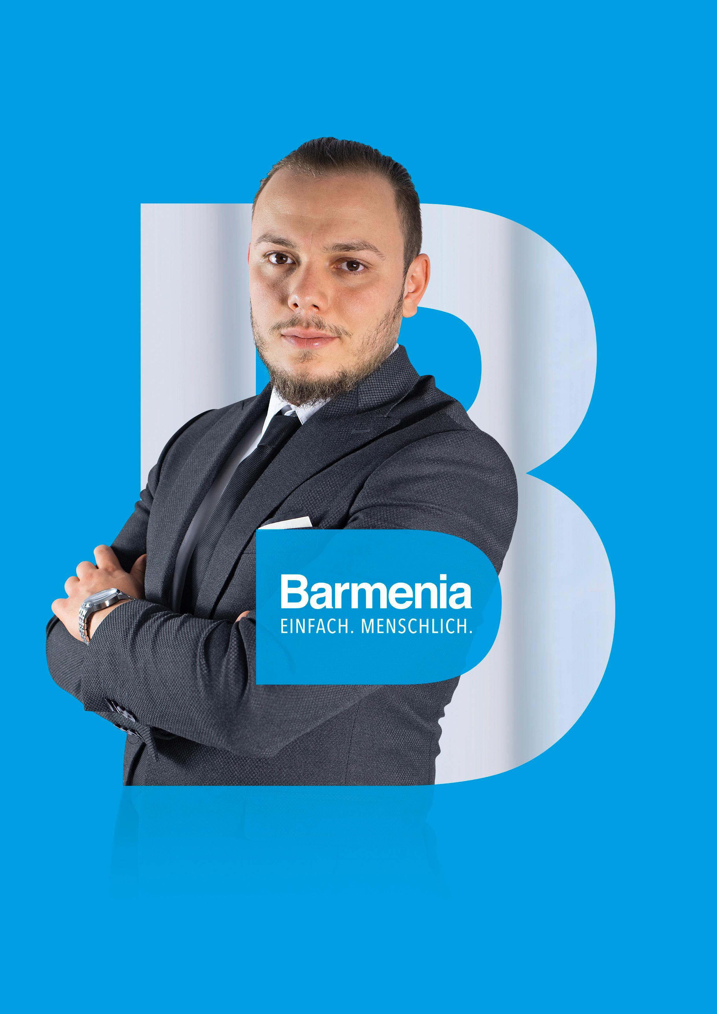 Taner Tezeren. Ihr Ansprechpartner für die Barmenia Versicherung in Herne.