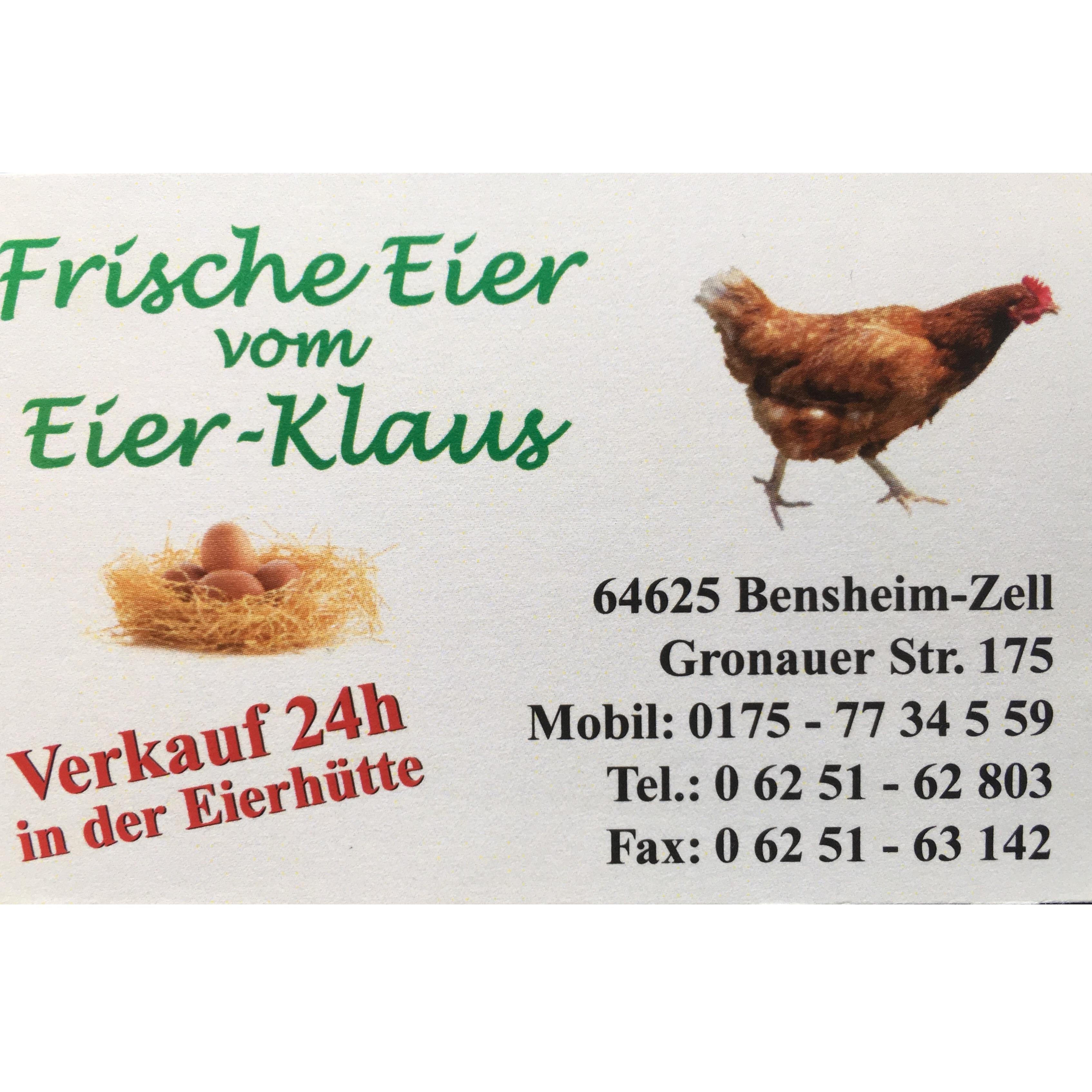 Bild zu Eier Klaus - Klaus Schwinn Landwirt in Bensheim
