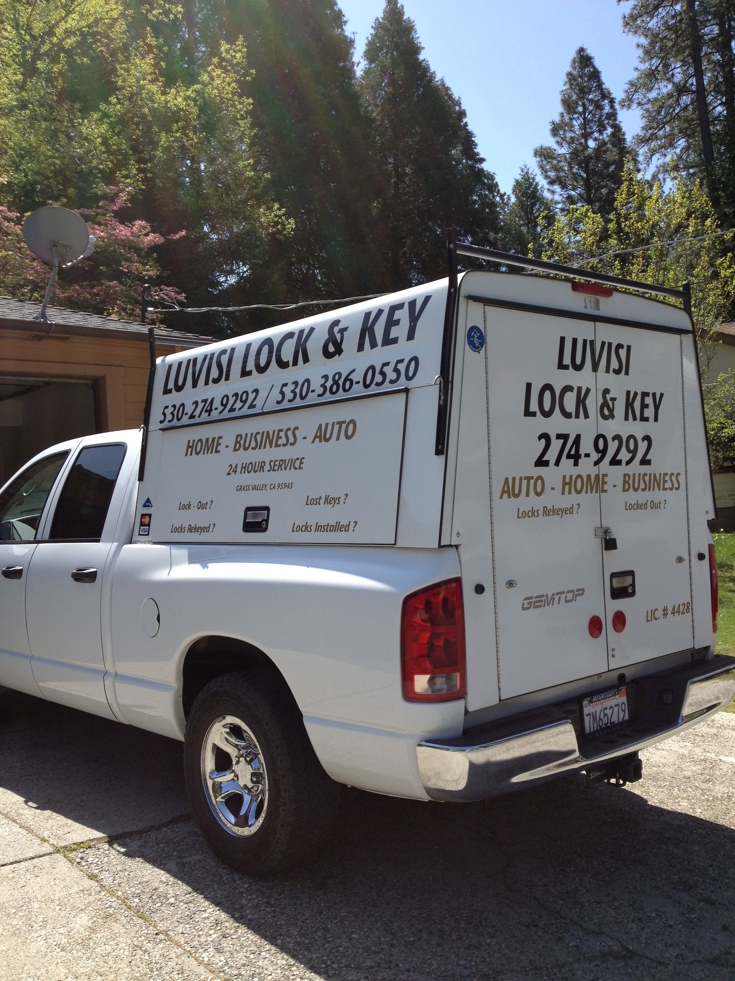 LuVisi Mobile Lock & Key - Grass Valley, CA -