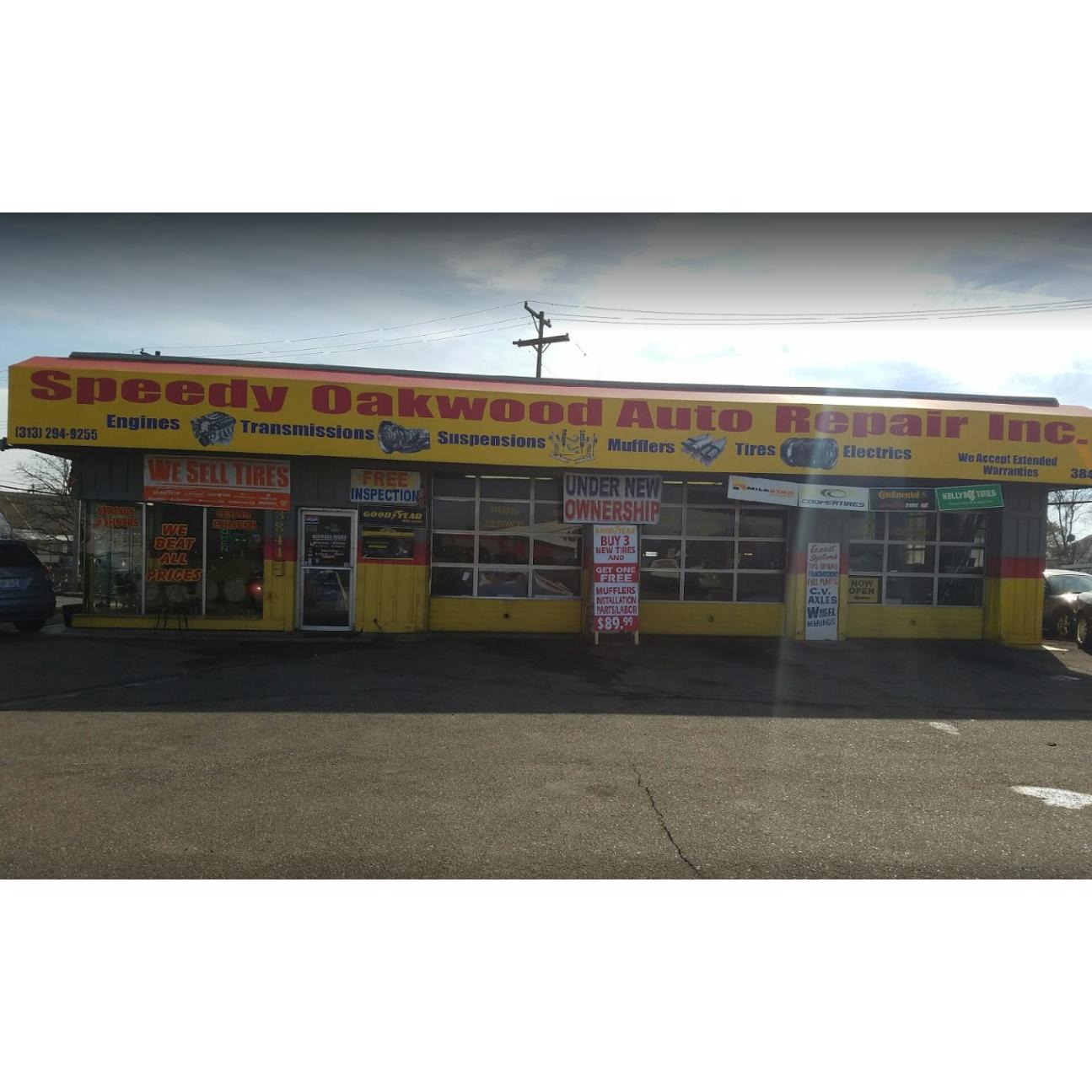 Speedy Oakwood Auto Repair Inc Melvindale Michigan Mi