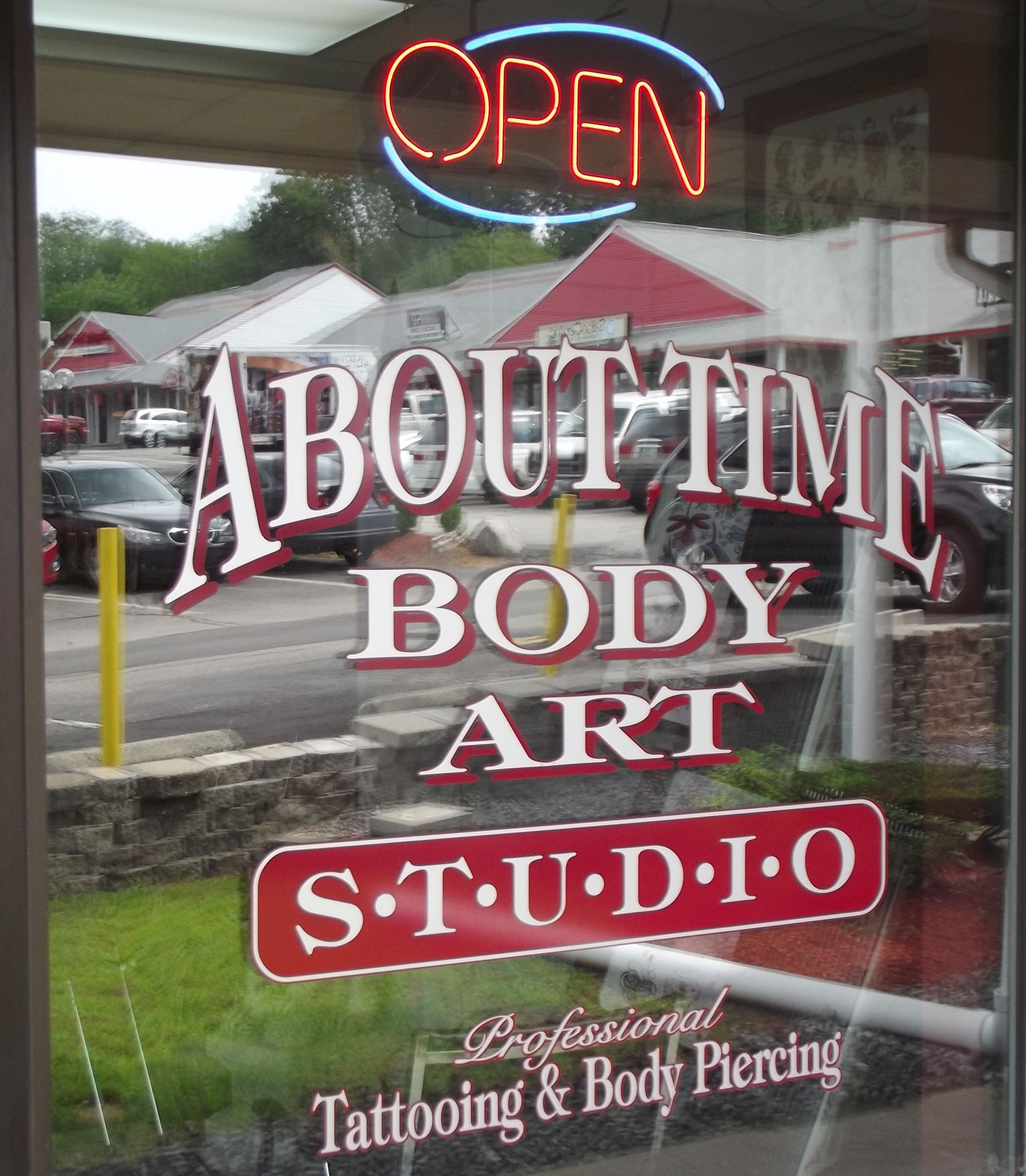 About time tattoo and body piercing nashua new hampshire for Tattoo shops in nashua nh