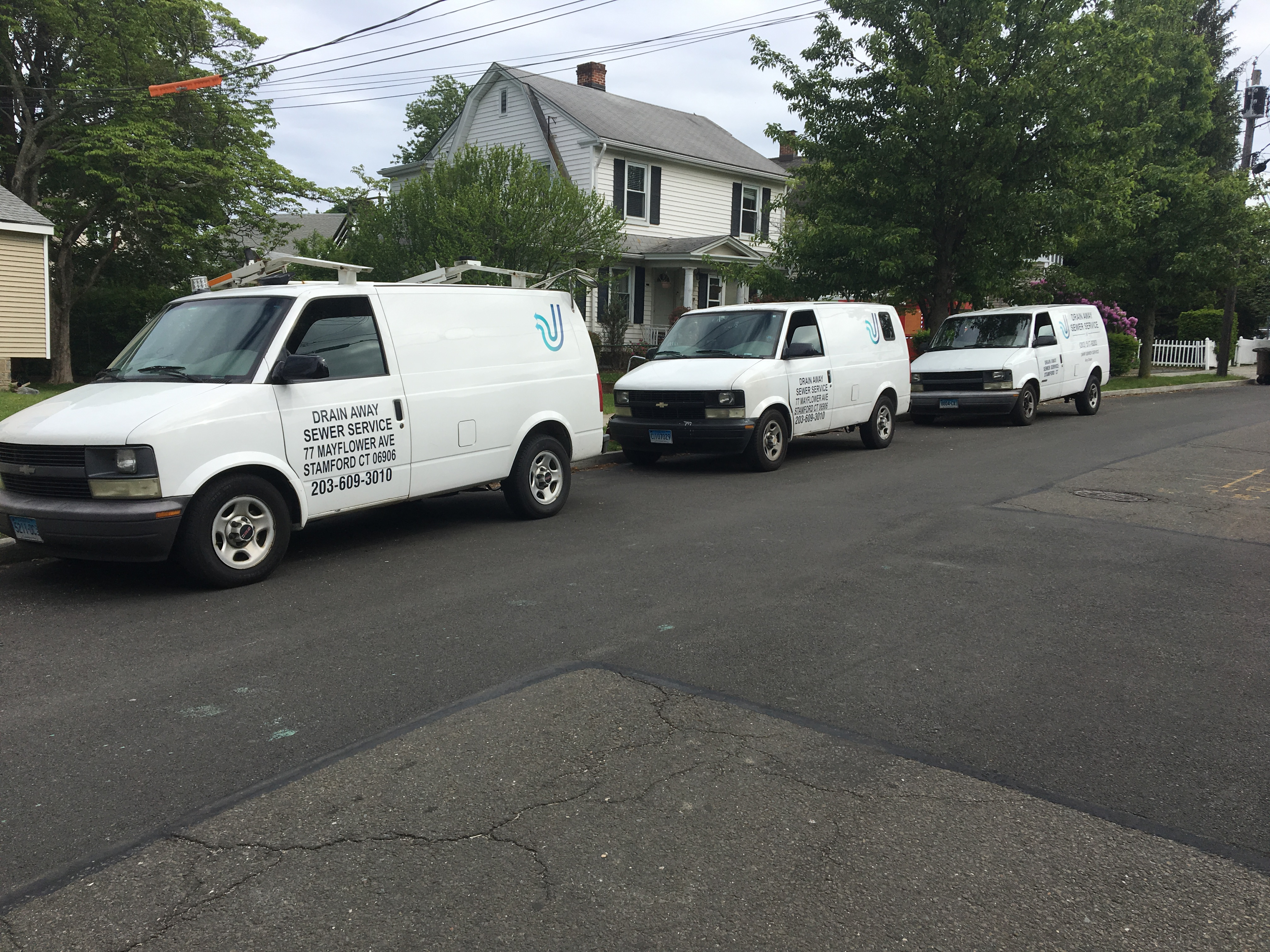 Drain Away Sewer Service Inc Stamford Connecticut Ct