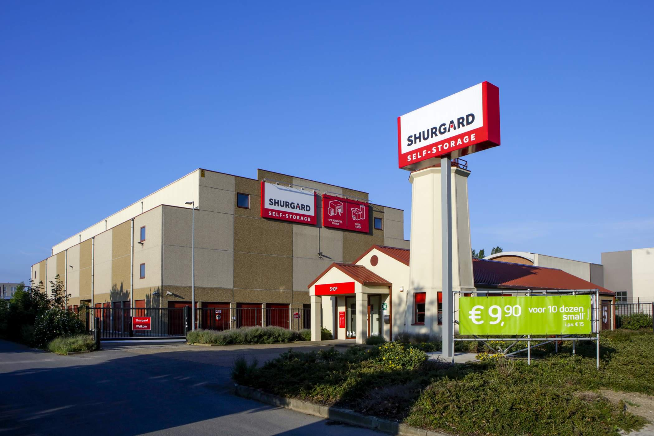 Shurgard Self-Storage Antwerpen Linkeroever