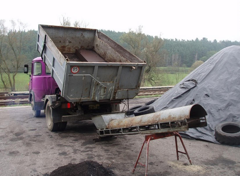 Uhelné sklady - Třebíč / Bransouze