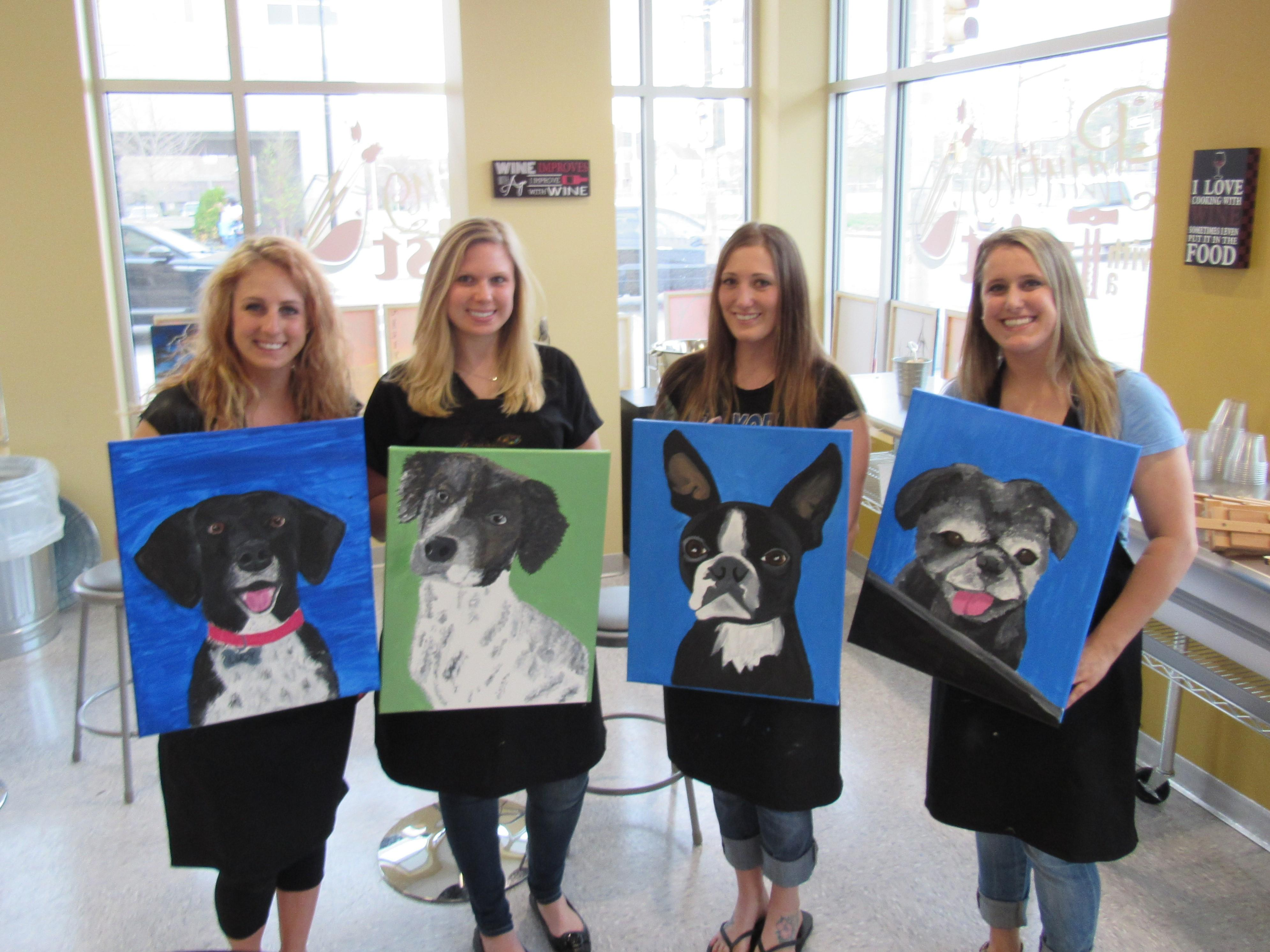 Painting with a twist in pittsburgh pa 15206 for Painting with a twist chicago