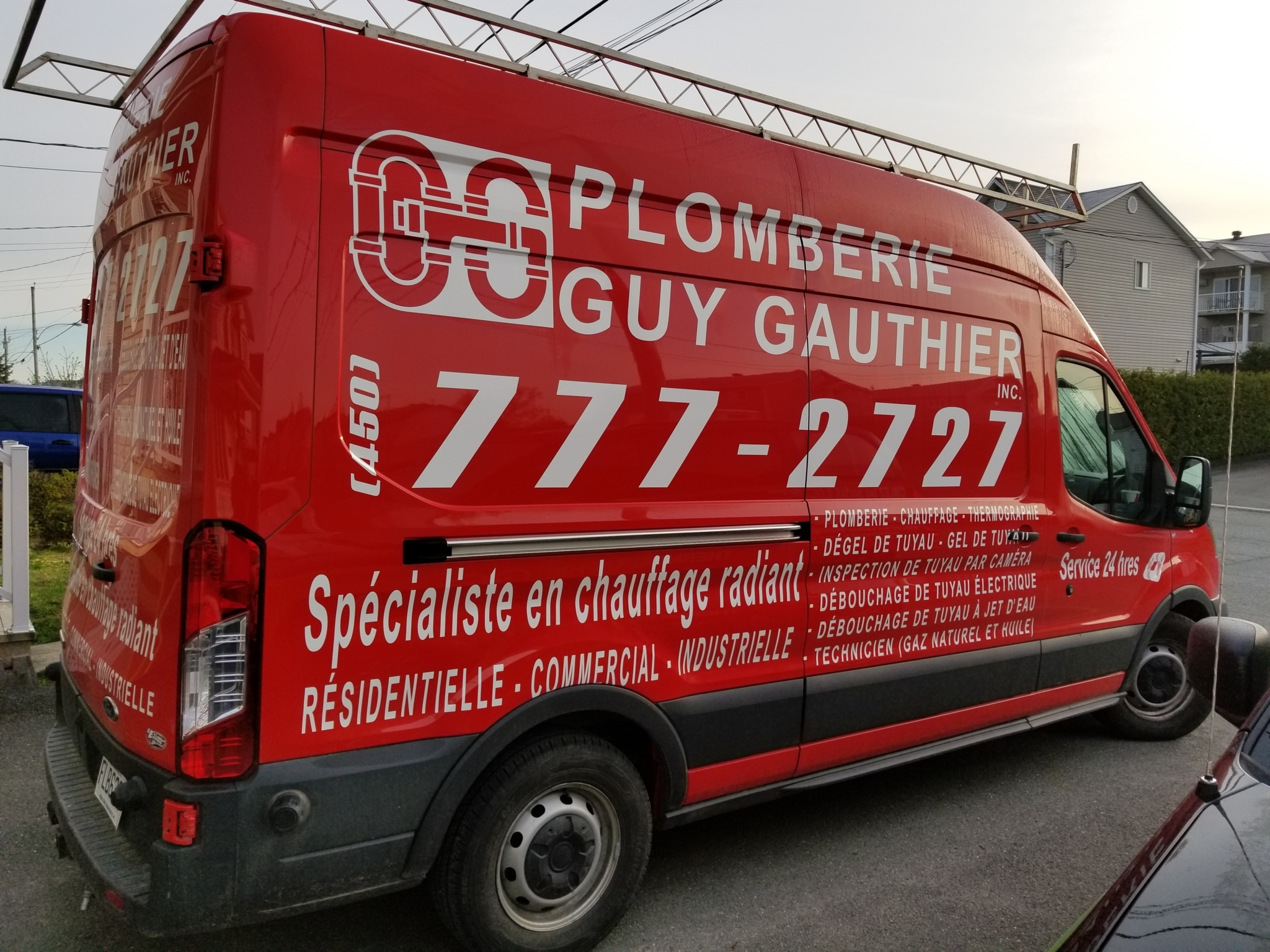 Plomberie Guy Gauthier Inc Granby (450)777-2727