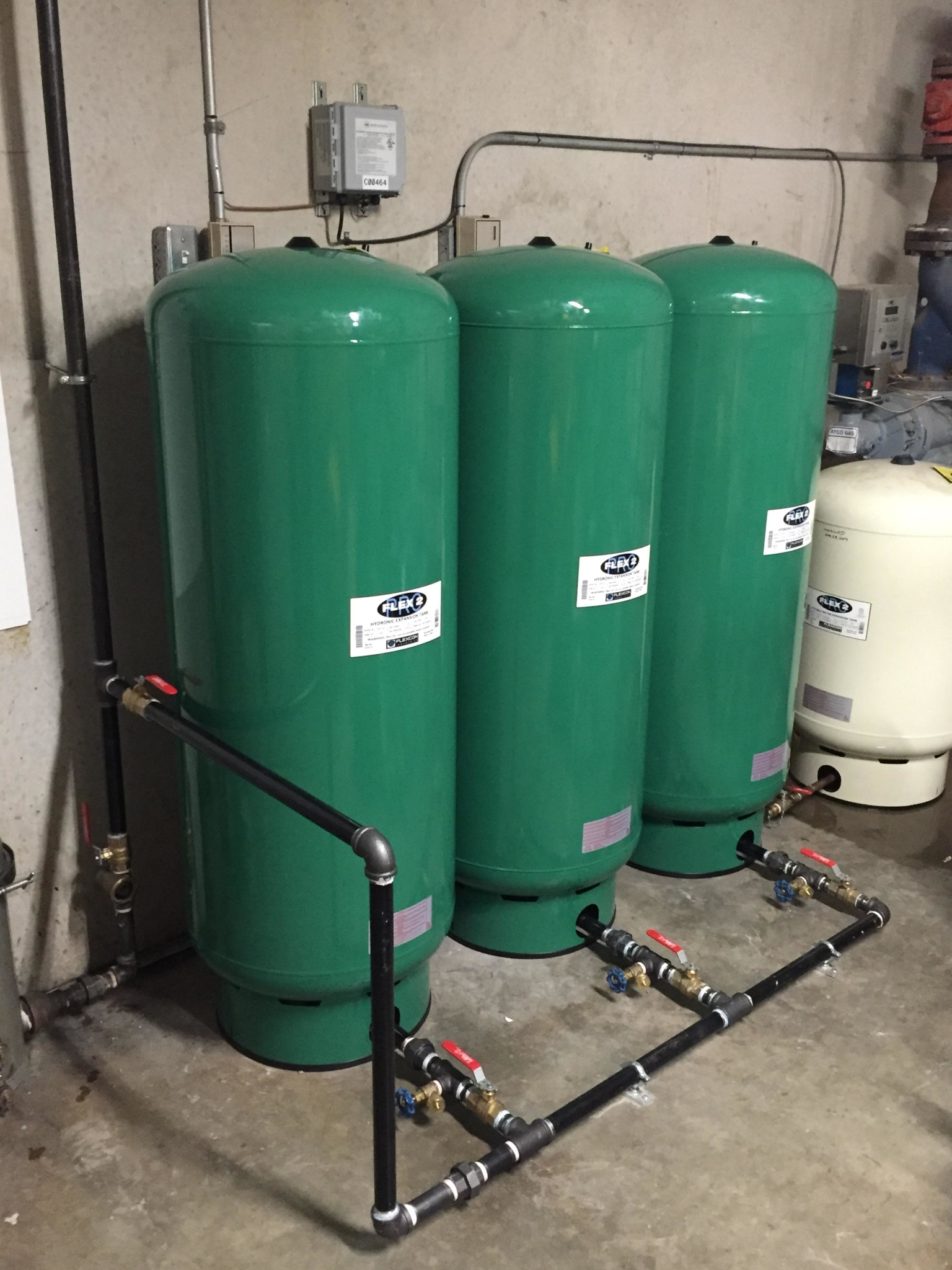 Expansion tanks make sure your boilers and hydronic heating system operate safely and efficiently an Hydro-Flo Plumbing And Heating Edmonton (780)203-2230
