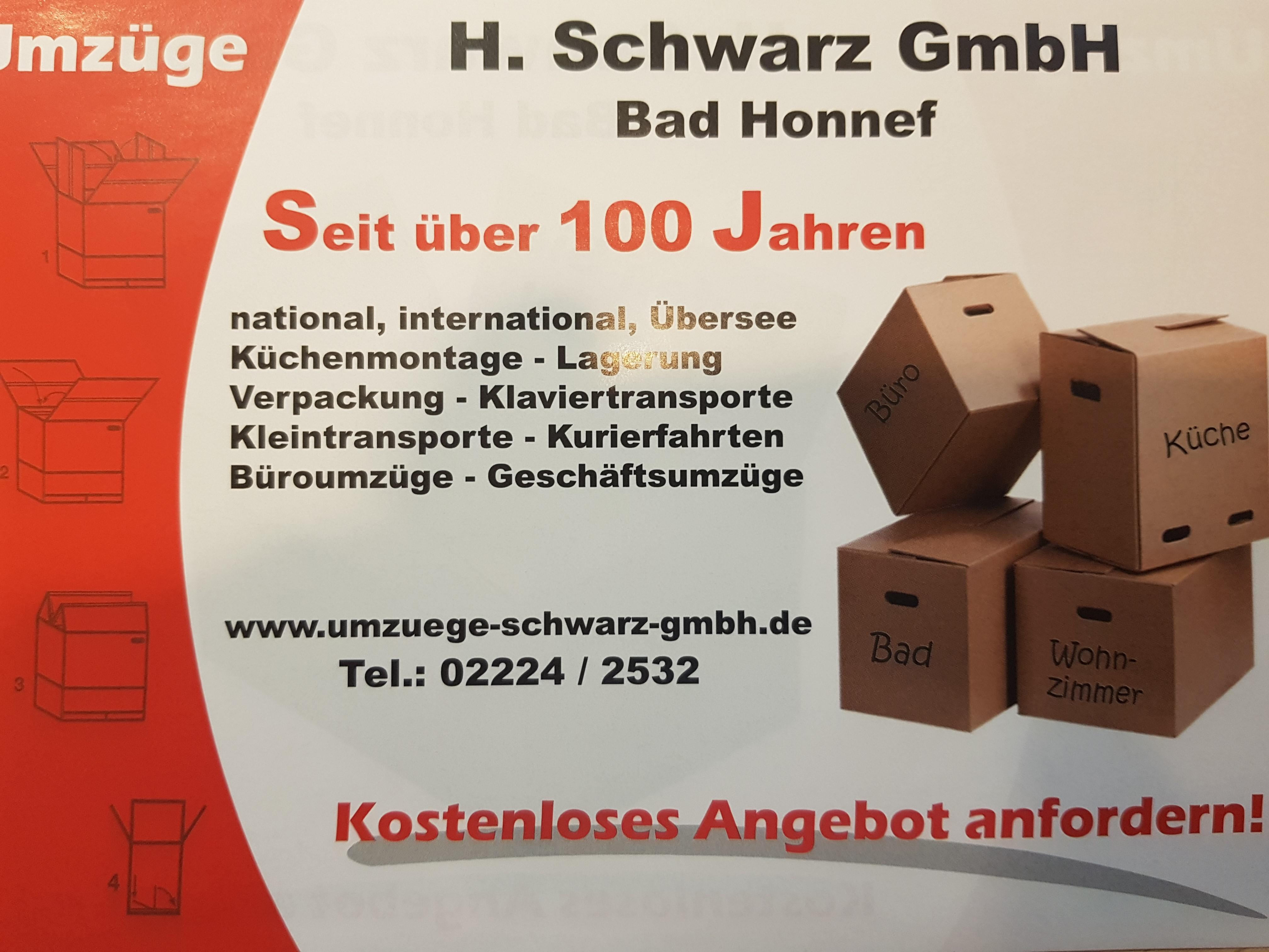 Heinrich Schwarz GmbH | Umzüge & Möbelspedition | Bad Honnef