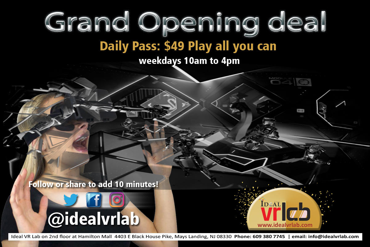 Ideal VR Lab - Mays Landing, NJ 08330 - (609)380-7745 | ShowMeLocal.com