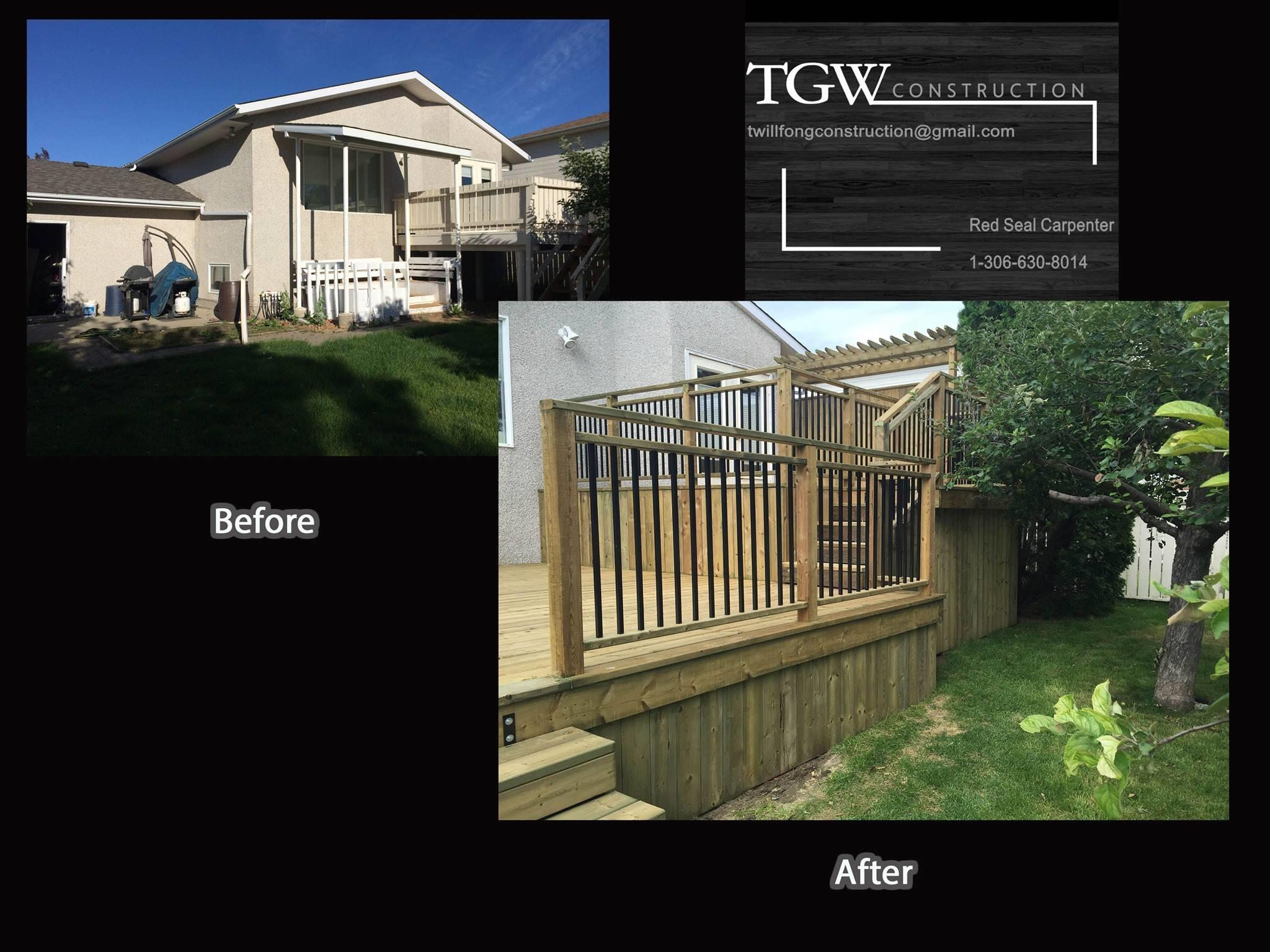 TGW Construction Inc Moose Jaw (306)630-8014