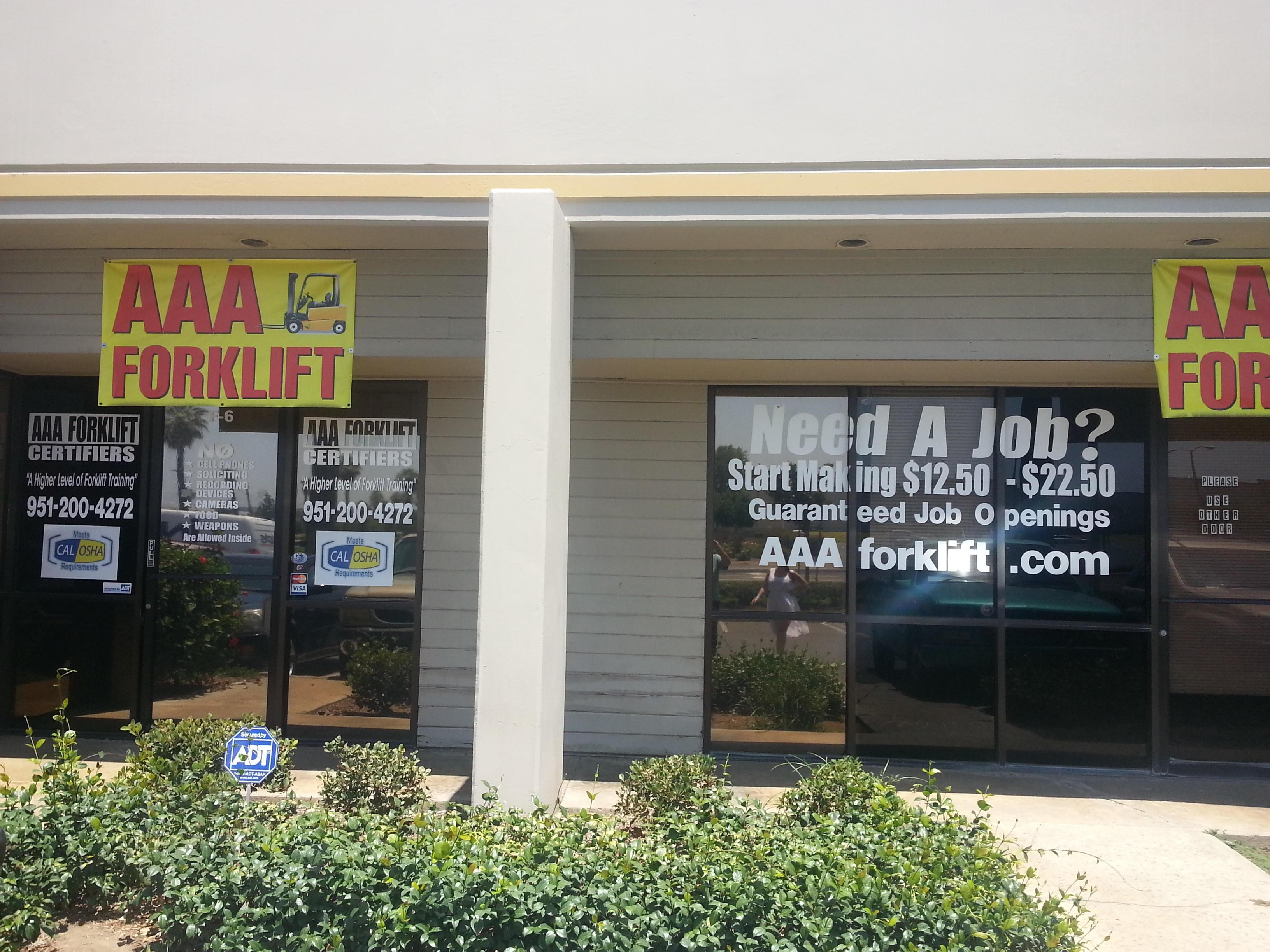 Aaa Forklift In Riverside Ca 92507 Chamberofcommerce Com
