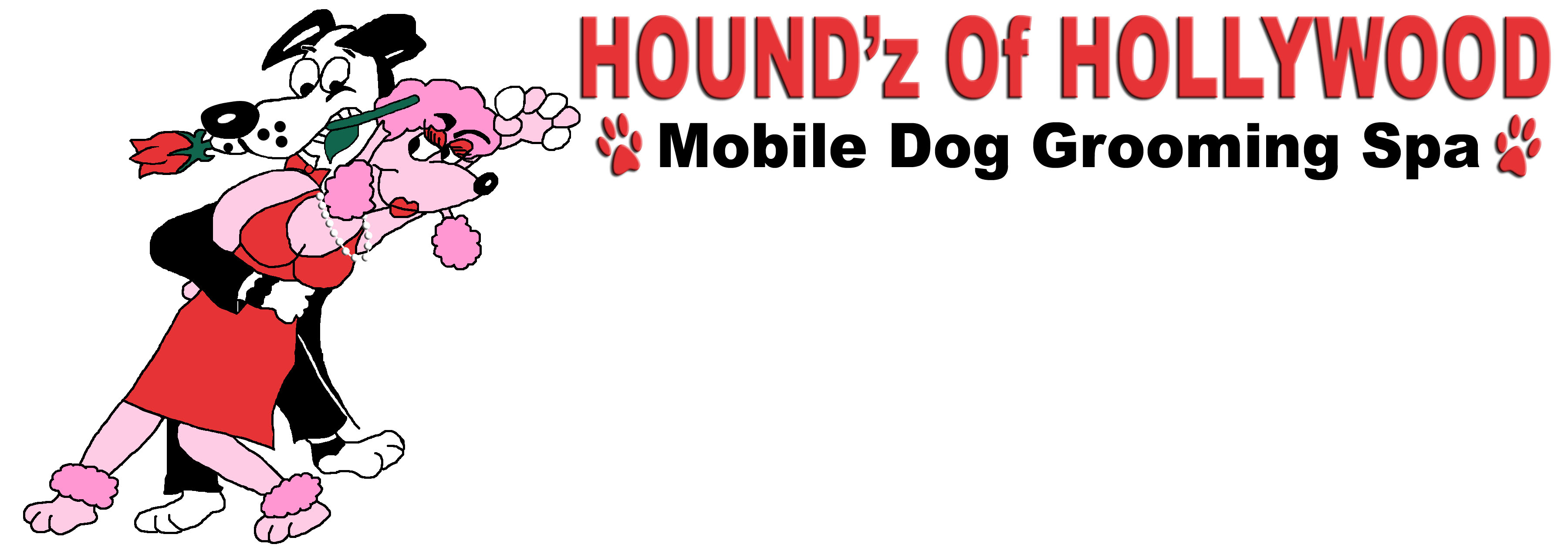 Houndz of hollywood mobile dog grooming spa coupons near for Dog grooming salons near me