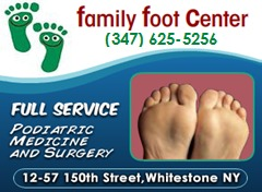 Family Foot Center - Whitestone, NY 11357 - (718) 767-5555 | ShowMeLocal.com