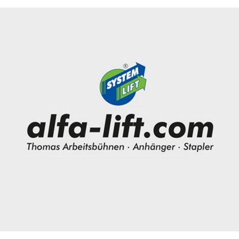 Bild zu alfa-lift.com Thomas Arbeitsbühnen, Anhänger, Stapler in Hochkirch