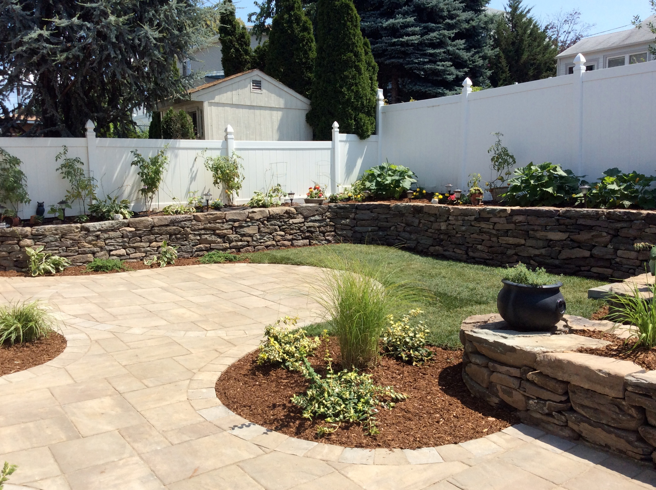 Joe antine landscape design contractor bergen county for Landscape design contractors