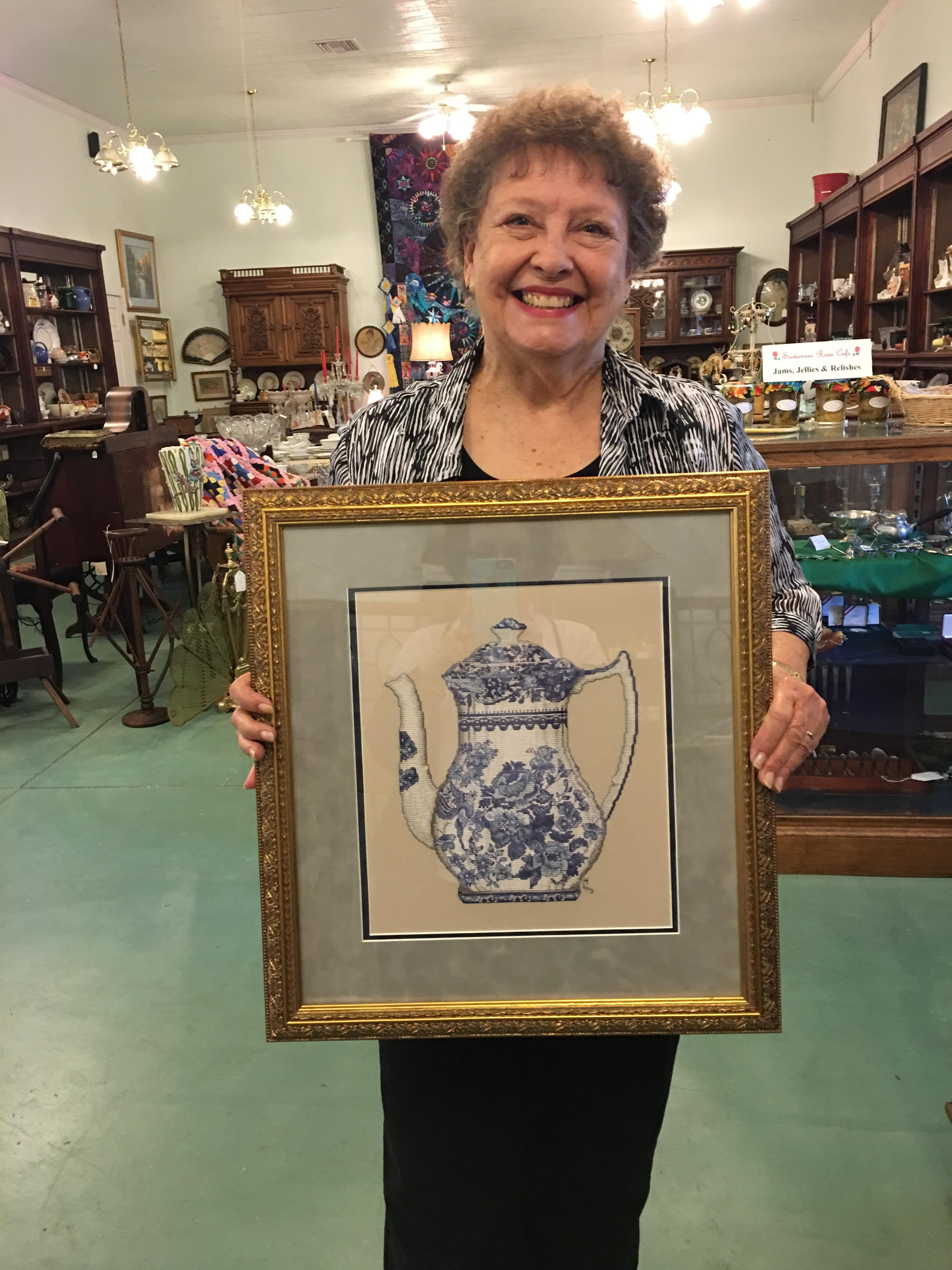 Suwannee Valley Cross Stitch and Framing