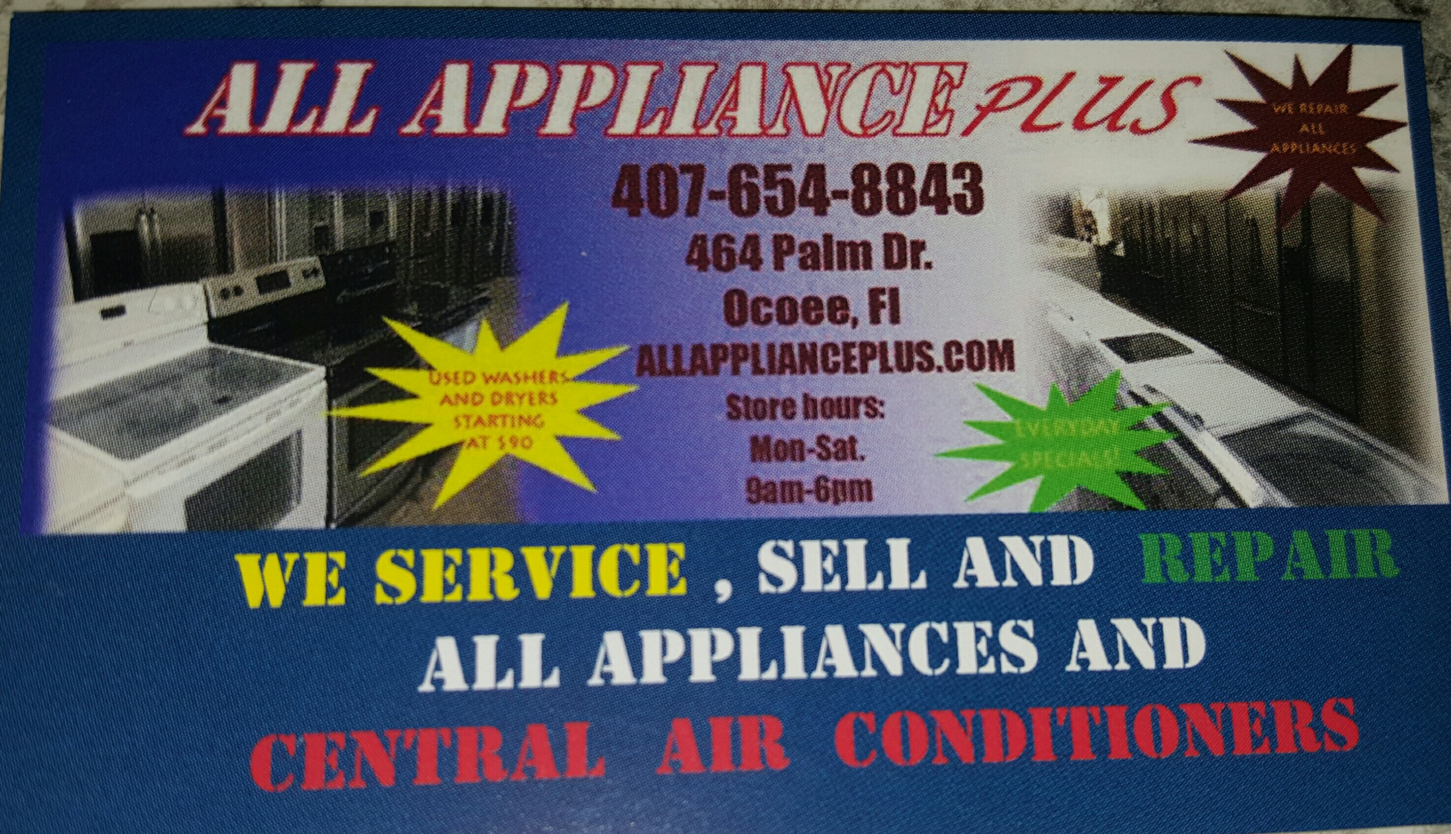 All Appliance plus