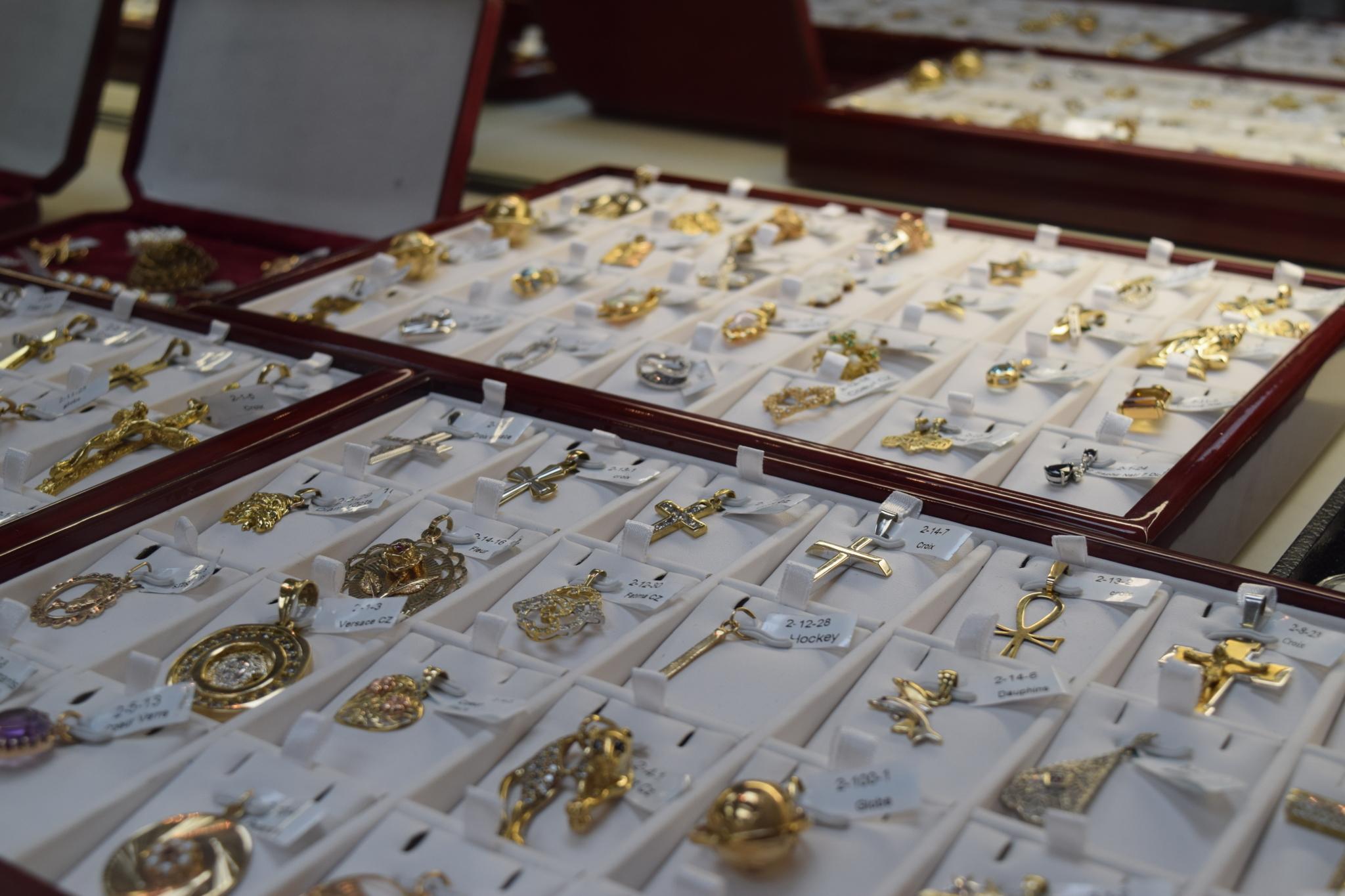 Second'Or à Montréal: GOLD PENDANT