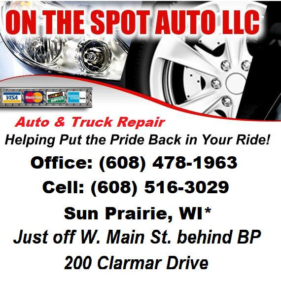 On The Spot Auto LLC - Sun Prairie, WI 53590 - (608)478-1963 | ShowMeLocal.com