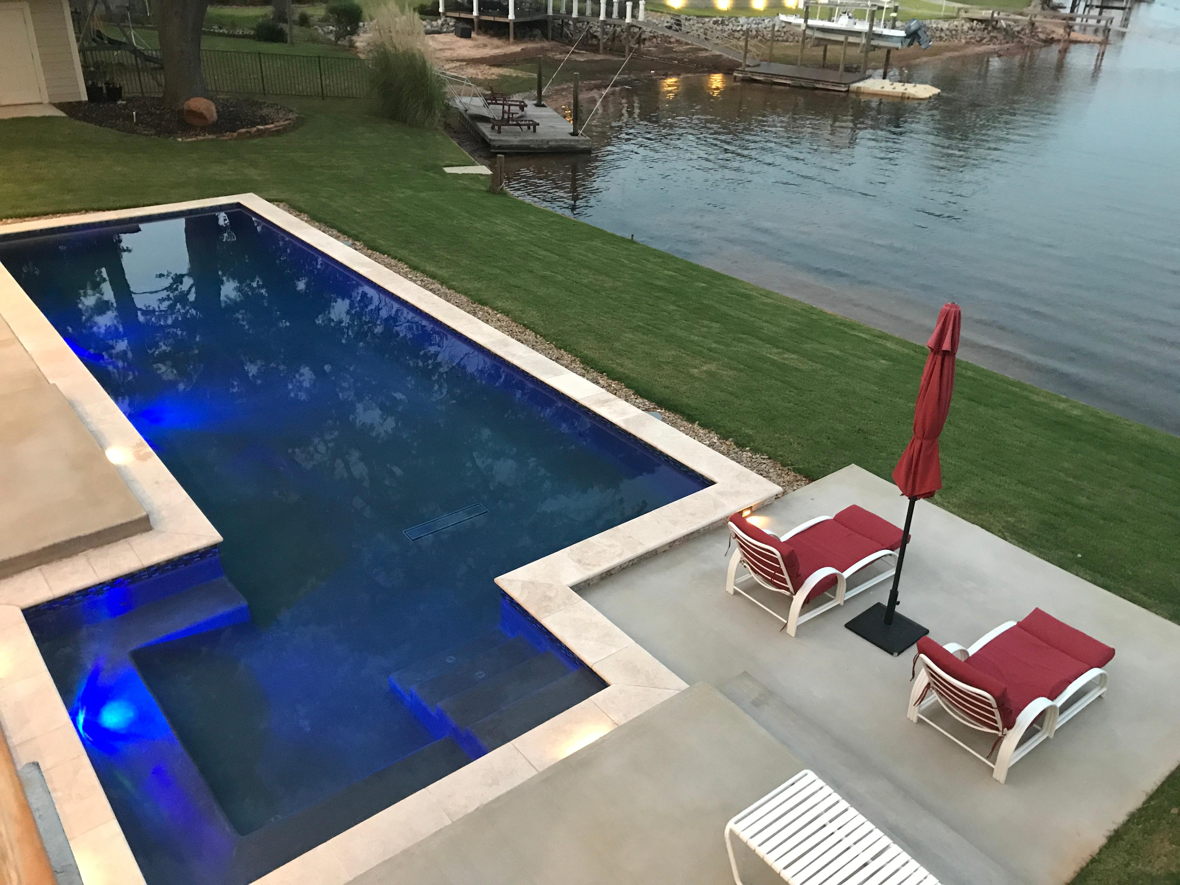 Crystal pools llc in columbia sc swimming pool for Pool dealers