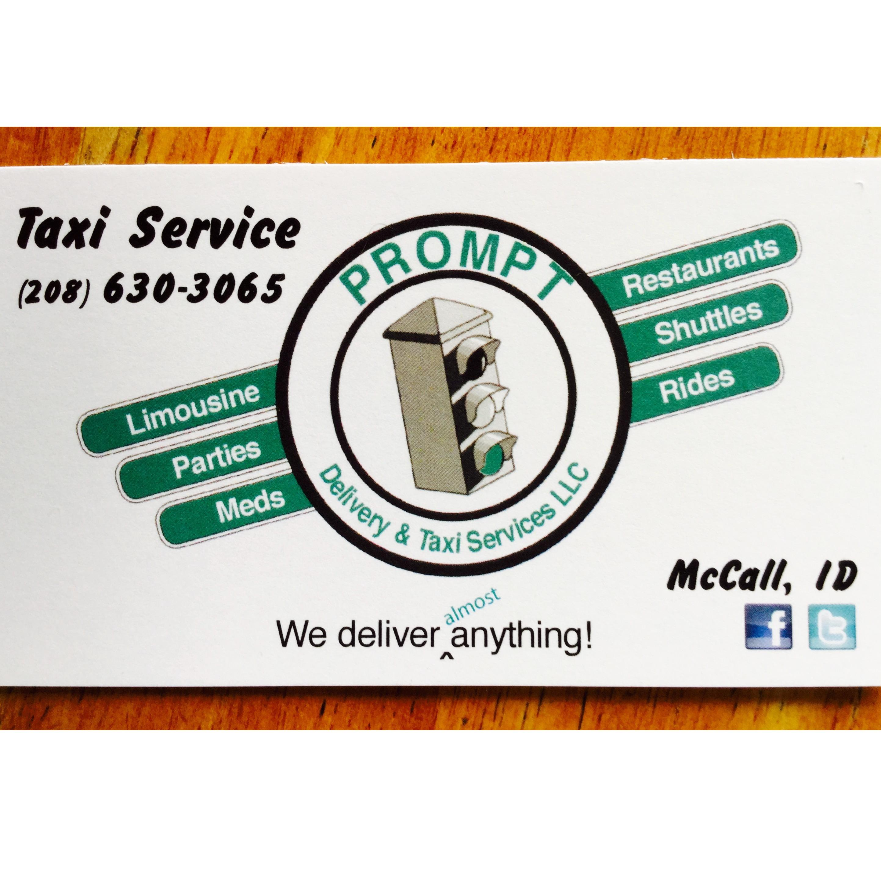Prompt Delivery & Taxi Service LLC
