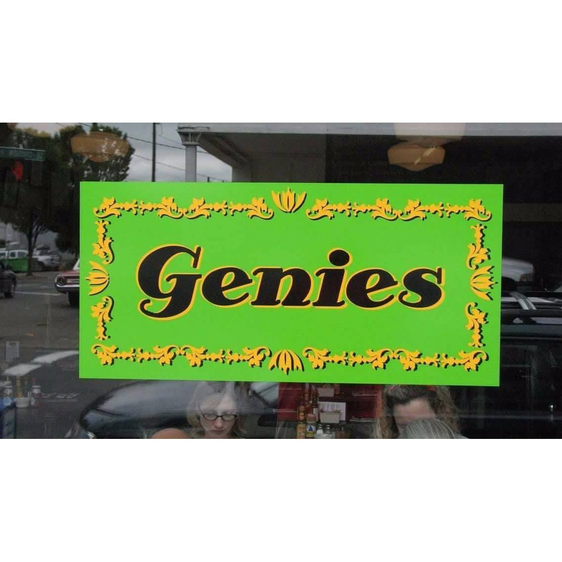 image of the Genies Cafe