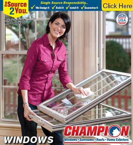 Champion Windows Sunrooms Roofs Home Exteriors In Greensboro Nc 27409