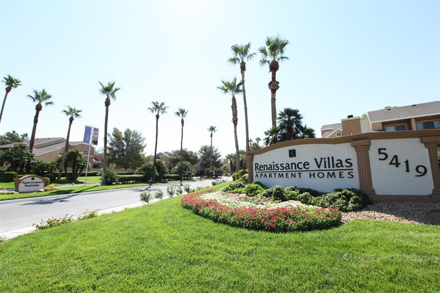 Renaissance Villas Apartment Homes Las Vegas Nv